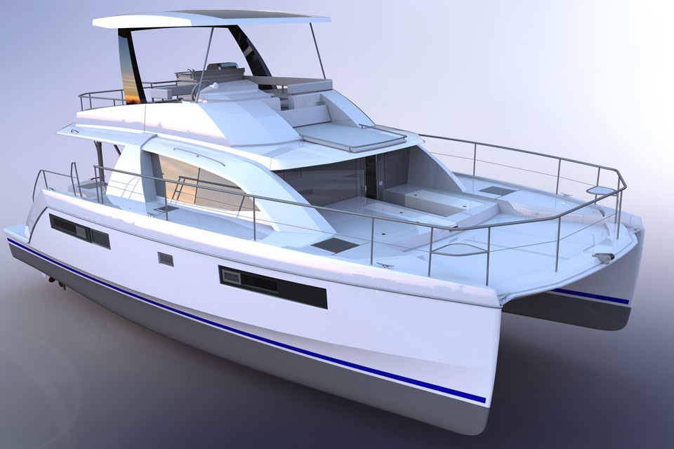 Leopard 43 Powercat Soon to Launch in Cape Town | Leopard Catamarans US