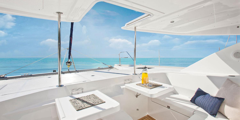 Leopard catamaran dinghy platform
