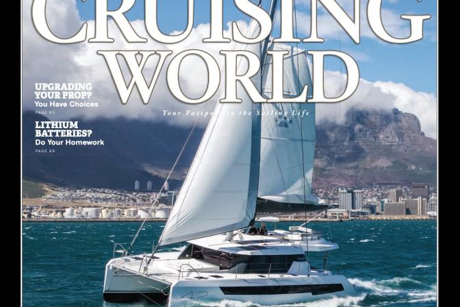 Cruising World Magazine cover