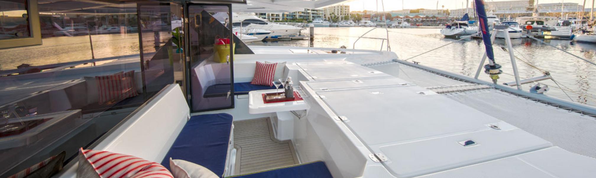 Leopard catamaran