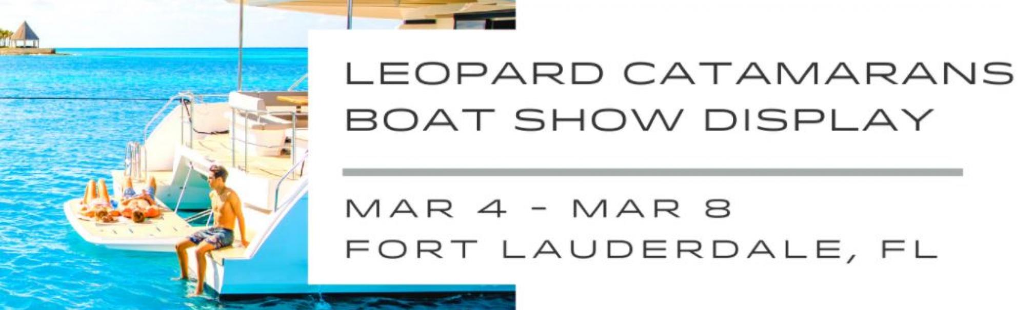 Leopard Catamarans open house