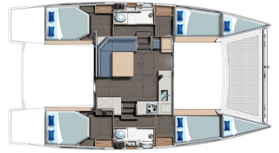 4 cabin layout