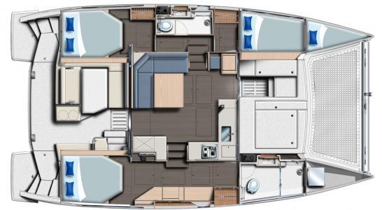 3 cabin layout