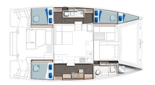 3 Cabins with Owner Suite